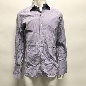 Tom Ford Men's Purple Button Down Shirt Size 41/16